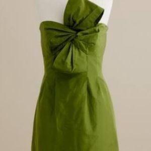 NWT j crew taffeta dress size 4